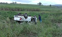 KwaZulu-Natal: Two injured in Richmond rollover