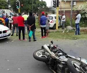 Pietermaritzburg: 80-year-old motorcyclist dies in collision with light motor vehicle
