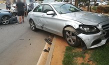 Gauteng: One injured in five-vehicle crash Randburg.