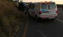 Thirteen injured in PMB taxi crash