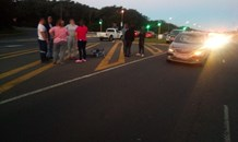 Cyclist injured in Collision on the John Ross Highway in Richards Bay.