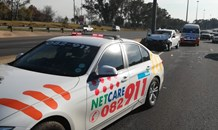 Gauteng: One injured Sandton crash
