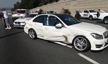 Gauteng: Four car collision in Sandton