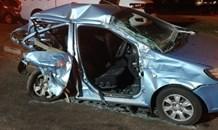Gauteng: Two injured in Krugersdorp crash