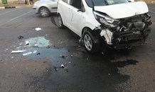 Three vehicle collision in Edenvale