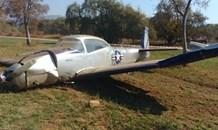 Gauteng: Aeroplane clips tree during forced landing