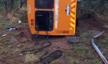 Gauteng: Two dead multiple injured in bus crash on the Moloto road near Cullinan