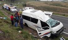 20 Injured in N3 taxi rollover near Tweedie