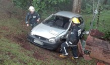 Mother and son escaped serious injury after losing control of car on Ashley road, Everton