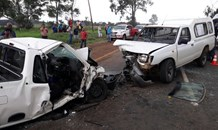 One killed and two injured in head on collision on the R82 in Vereeniging