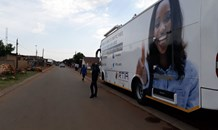 Transport Deputy Minister takes AARTO mobile office to the River of Mercy Ministries