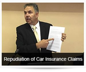 Repudiation of Car Insurance Claims and Crash Investigation
