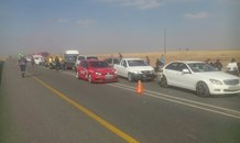 Four injured in eleven vehicle collision, Secunda