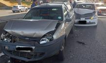 One injured in a collision at Moddeffontein