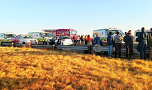 15 Injured after vehicle and taxi collide in Sebokeng