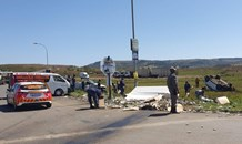 Six injured in a serious two-vehicle collision in Vryheid