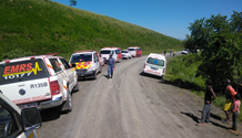 Taxi rollover leaves one dead and eleven injured in the Ncwadi area, KwaZulu-Natal