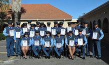 Traffic officers graduate from Gene Louw Traffic College