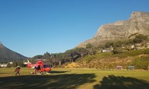 Three men have been airlifted from Porcupine Ravine on Table Mountain