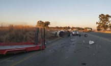 Four killed following collision with detached trailer in Vaalpark