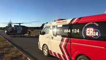 Two killed, one airlifted from collision in Westonaria