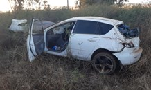 Family injured in single vehicle rollover outside Vereeniging