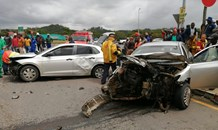Four injured in collision at the N2 Marburg Intersection