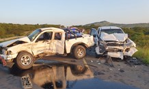 Six injured in collision on the R34 at Zulu Rock