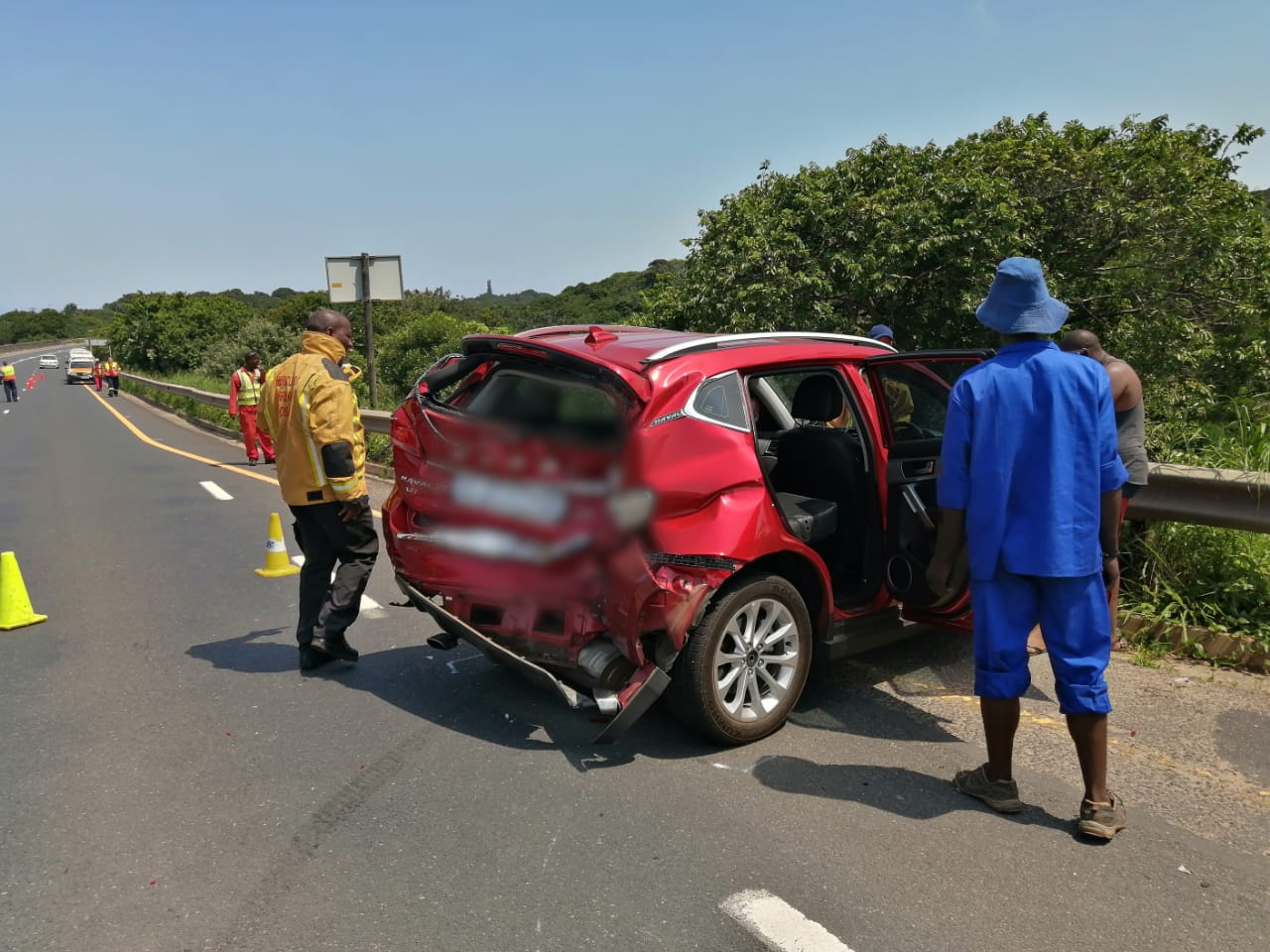 8 Injured in collision on the R61 at the Mpenjati bridge