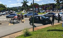 Two injured in collision on the R34 John Ross highway