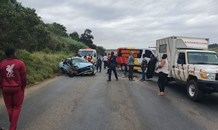 One injured as truck and car collide on the Western Bypass at Empangeni