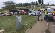 Four injured in a collision at an intersection at Empangeni