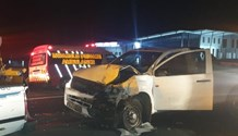 Four injured in a collision on the N3, Camperdown