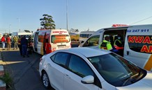 14 Injured as 2 minibus taxis collide on the N2 Murchison