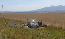 Fatal vehicle rollover crash on the R34 near Mancamana