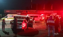 Five injured in a collision at Vryheid