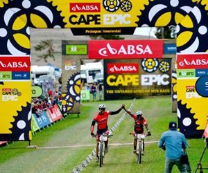 Mediclinic, in conjunction with ER24, supporting the Absa Cape Epic as medical support provider.