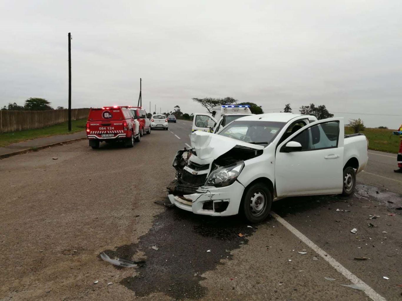 Thirteen injured in a collision in Cato Ridge