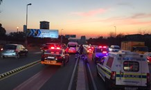 Man dies after collapsing on Empire Road in Gauteng