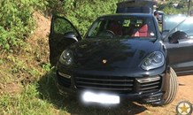 A motor vehicle recovered after was stolen in a house robbery incident, Durban