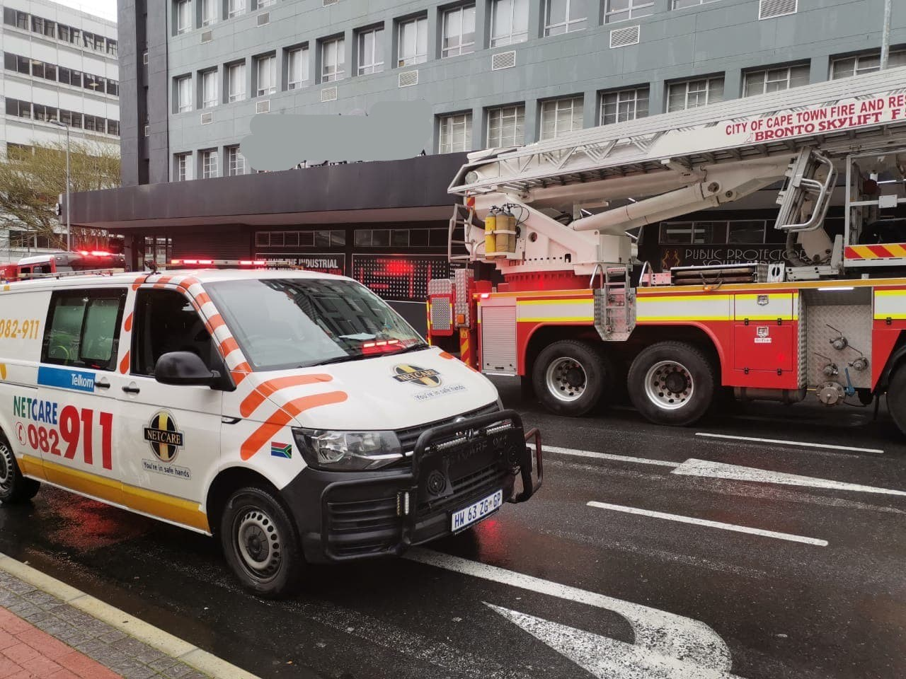 Western Cape: No injuries in Cape Town building fire