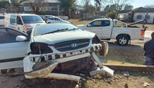 Driver escapes injury after driving into a wall in Howick