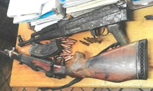 The SAPS continues the clampdown on illegal firearms