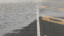 Caution to all road users during wet weather conditions