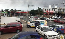 An armed robbery incident at a liquor store in Ashley Avenue, in the suburb of Glen Ashley, north of Durban