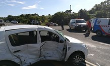 Six injured in South Coast crash