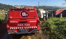 Woman and child killed following wall collapse in Slangspruit