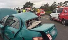 One killed, two injured after two vehicles collide before the Umlaas on-ramp in KwaZulu-Natal