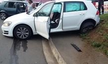 Motor vehicle collision in Verulam