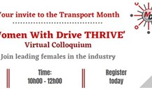 'Women With Drive THRIVE' virtual colloquium